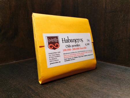 Habanero Chili – 100.000 - 300.000 Scoville