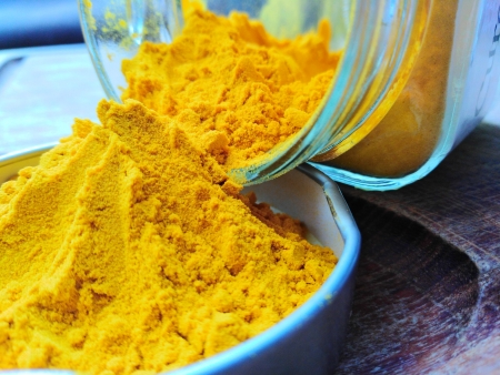 Turmeric finely ground