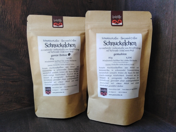 SCHNUCKELCHEN flavored coffee with IrishCreamNote